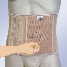 Бандаж абдоминальный послеоперационный для стомированных больных Orliman COL-160