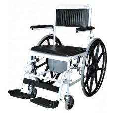 Кресло-коляска инвалидная с туалетным устройством (большими колесами) 5019W24