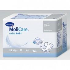 MoliCare Premium soft extra - Воздухопроницаемые подгузники: размер M, 30 шт. 169648