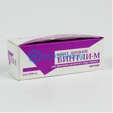 Бинт липкий Бинтли-М 10 см х 200 см +