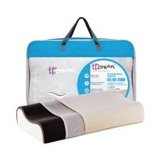 Детская ортопедическая подушка с серебром СО-03-206B 45х25х8/6