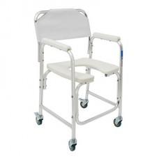 Кресло-туалет на колесах WC Delux Mobail 3 в 1