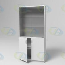 Шкаф ЛДСП 2х-створчатый 504 на опорах 1800х860х380 мм.