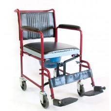 Cкладная кресло-каталка с санитарным устройством серия FS