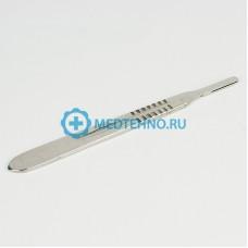 Ручка-держатель для сменных лезвий скальпеля