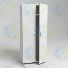 Шкаф для одежды ЛДСП 2х-створчатый ШК2 1900х800х550 мм.