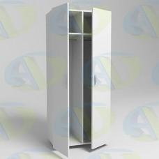 Шкаф для одежды ЛДСП 2х-створчатый 2 секции ШК2/2 1900х800х550 мм.