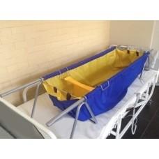 Складная ванна-простыня для мытья лежачих больных