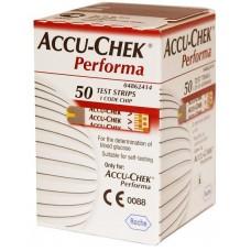Тест-полоски Акку-Чек Перформа 50шт. (Accu-Chek Performa)