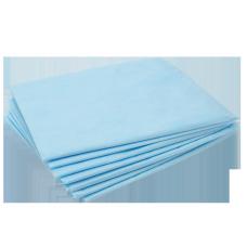 Простыня одноразовая стерильная 80х200 Спанбонд 25гм2 голубая