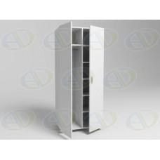 Шкаф для одежды комбинированный ШК2 на опорах 1900х800х550мм