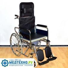 Коляска инвалидная FS 902 GC-46 с санитарным оснащением