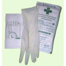 Перчатки хирургические латексные стерильные неопудренные микротекстурированные «Жавельсин»