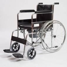 Кресло-коляска механическое с санитарным оснащением CCW15 (44 см.)