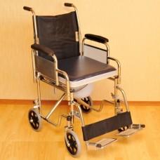 Кресло-коляска с санитарным устройством LK 6022-46DFW